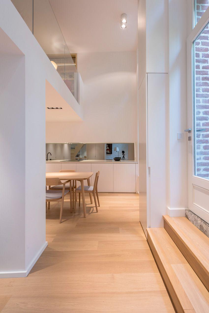 Maison contemporaine design / blanc / intérieur moderne ...