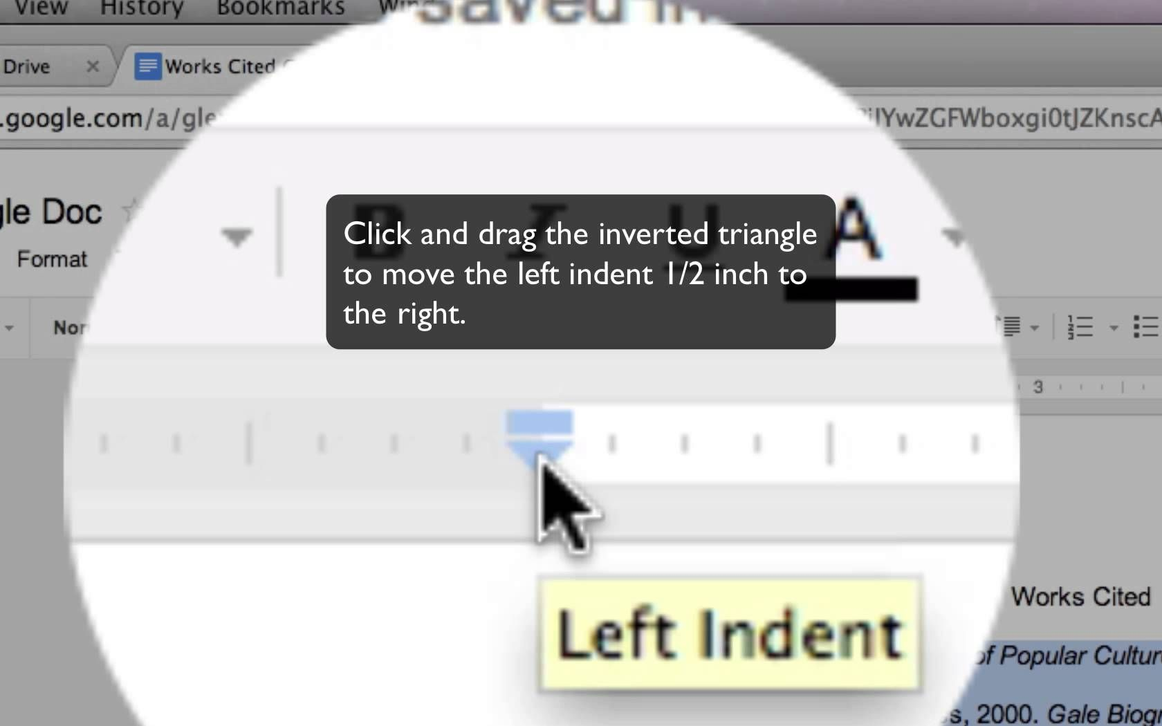 Google Docs Hanging Indent Tutorial I Love This My Sister Just Told Me To You Indents On It S So Easy And Yet Was