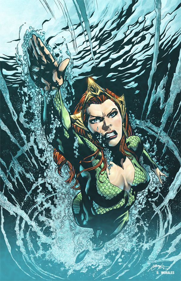 #Aquaman #Fan #Art. (AQUAMAN cover) By: Ivan Reis - color sample & Dany-Morales. (THE * 5 * STÅR * ÅWARD * OF: * AW YEAH, IT'S MAJOR ÅWESOMENESS!!!™) ÅÅÅ+