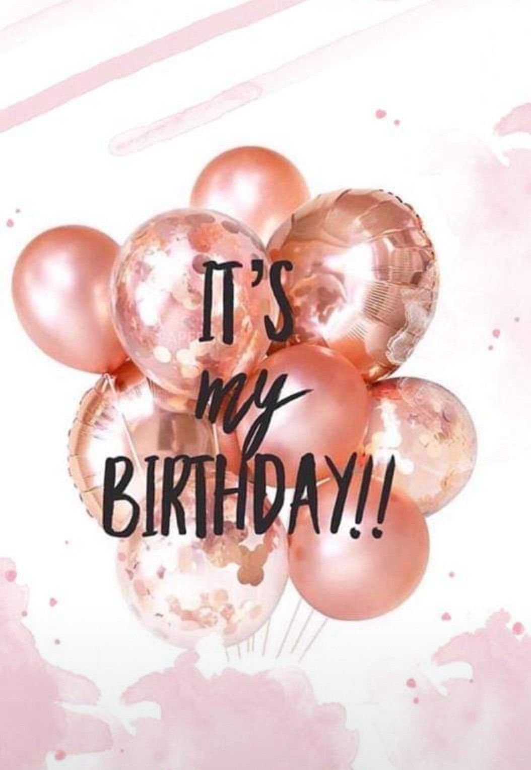 Happy Birthday To Mee In 2020 Geburtstag Hintergrundbild Heute