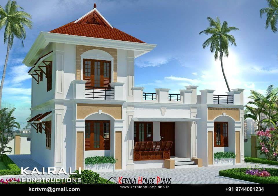 Three Bedroom kerala model House plan | Kerala House Plans ...