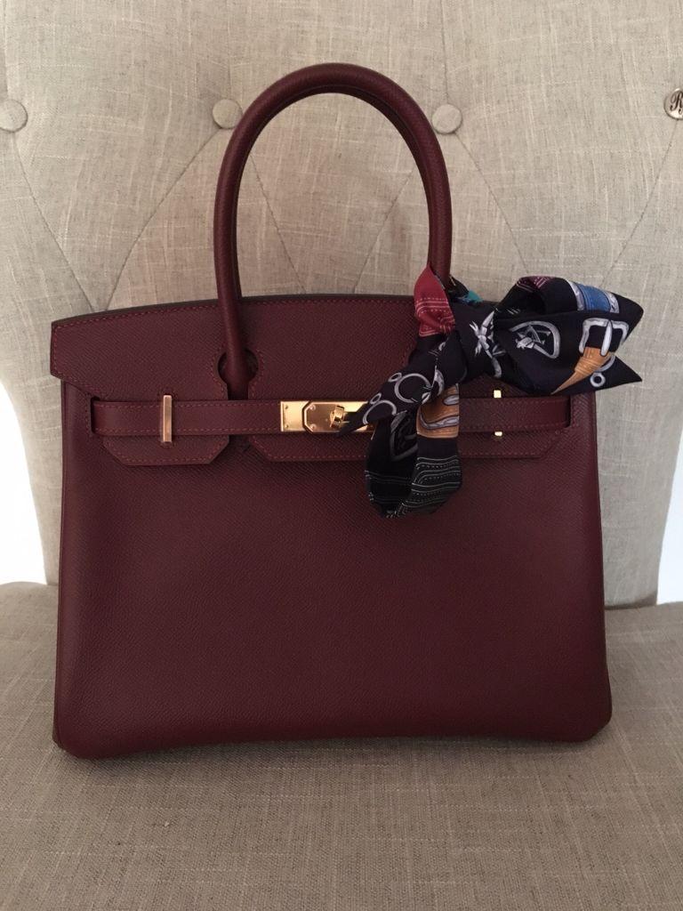 81803af7e92a Birkin Rouge H 30 Epsom leather 2015