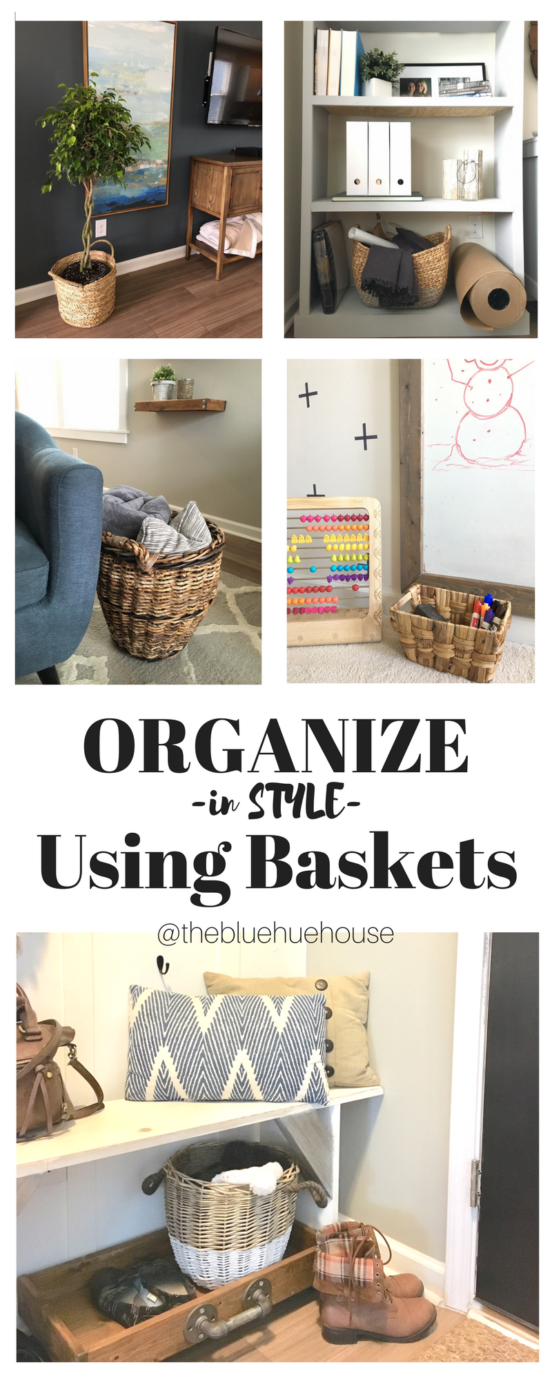 Organize IN STYLE Using baskets | Home Decor Ideas | Pinterest ...