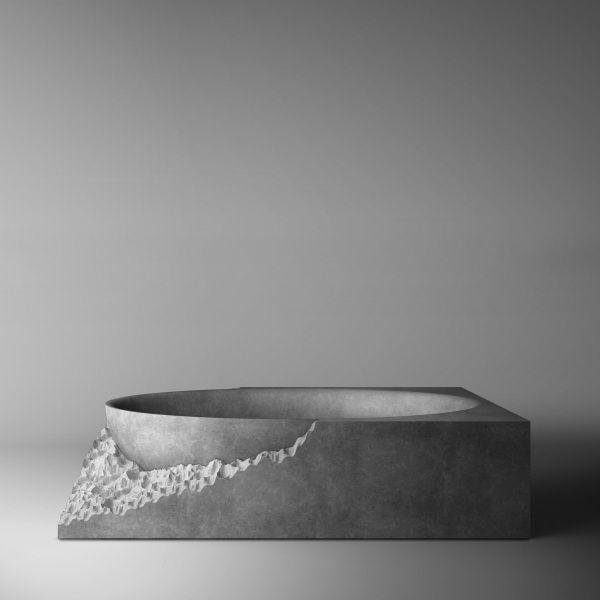 Henrytimi bagni vasca vasca esclusiva bagno di design minimale vasche in pietra marmo - Vasche da bagno in pietra ...
