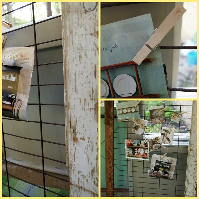 The Painted Home: { Pig Pen Memo Board }