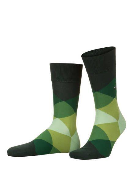 Burlington CLYDE socks in green