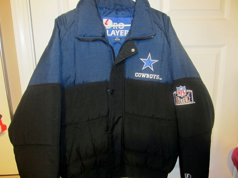 ffbfb6549 Vintage 90 s Dallas Cowboys Pro Player Jacket