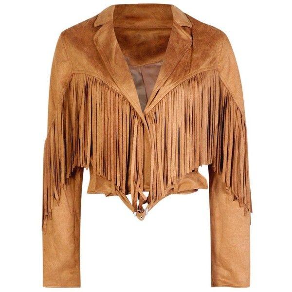 Suede Frilled Jacket