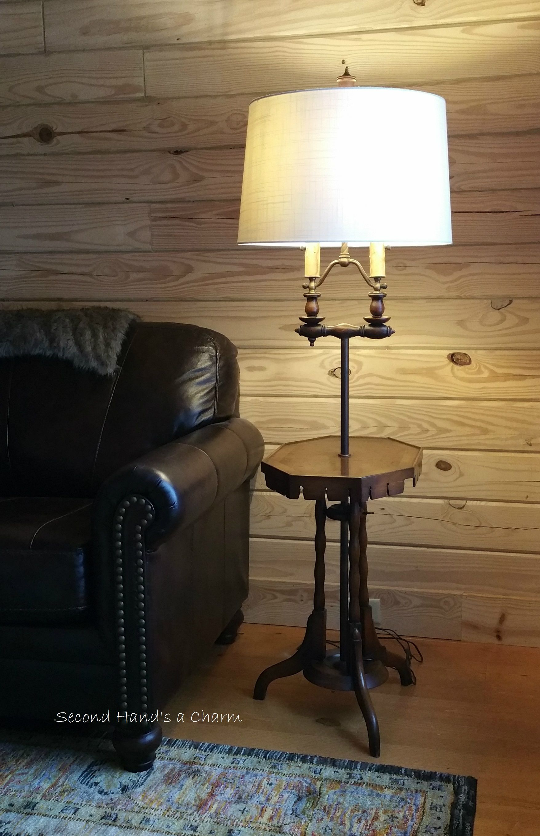 We found this vintage floor lamp at a used furniture store as is we found this vintage floor lamp at a used furniture store as is aloadofball Image collections