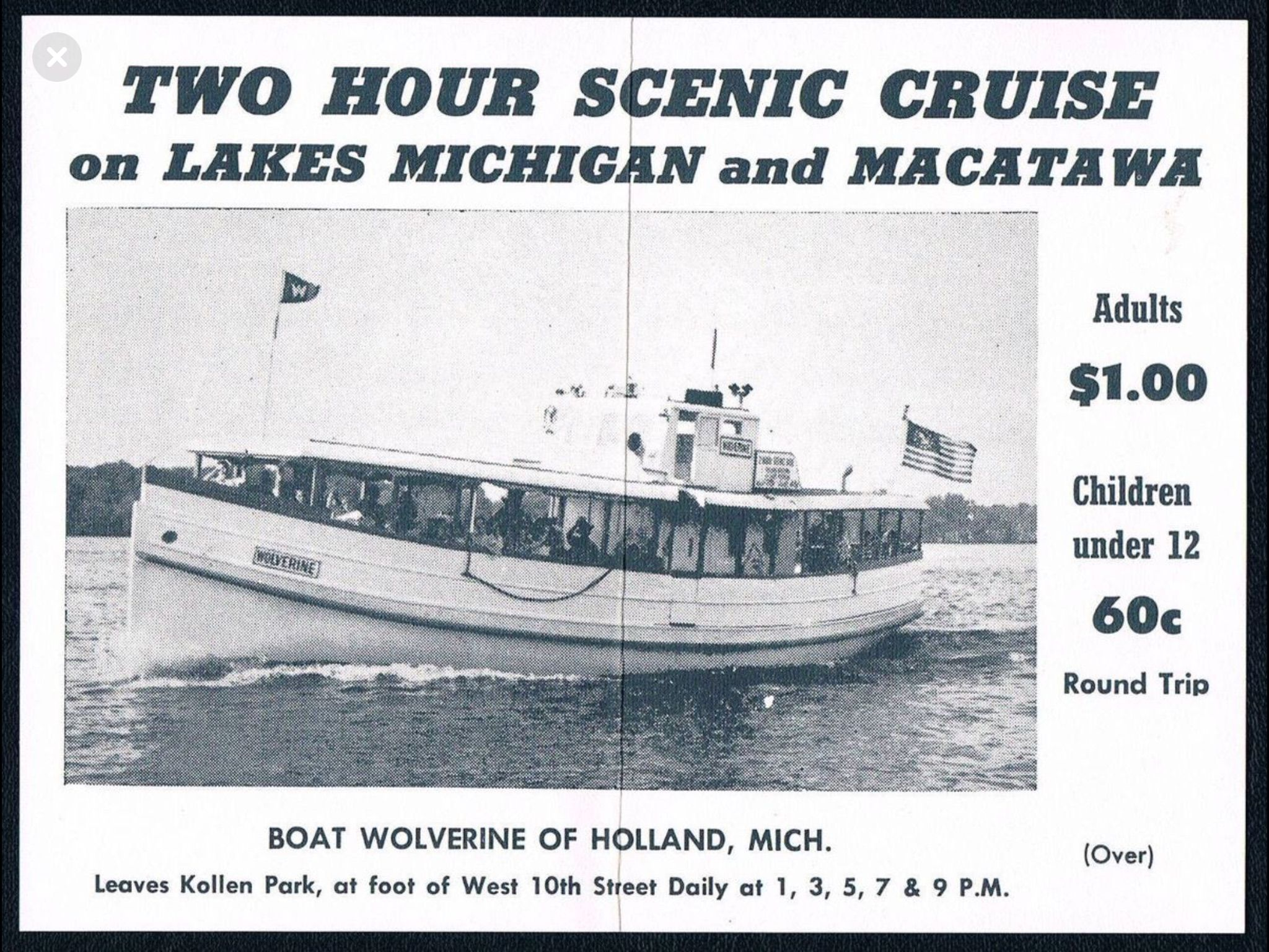Scenic boat tours of Lake Mac and Lake Michigan on the