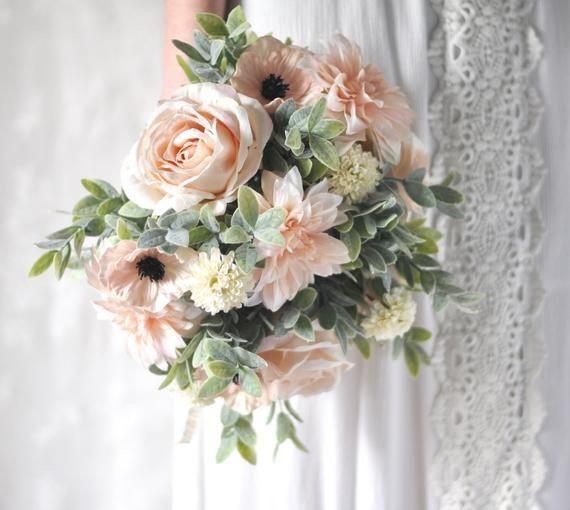 Bridal Flowers, Wedding Bouquet, Wedding Flowers, Wedding, Artificial Silk Flowers, Flower Bouquet, Bridal Bouquet, Boho, Bridesmaid Bouquet #silkbridalbouquet