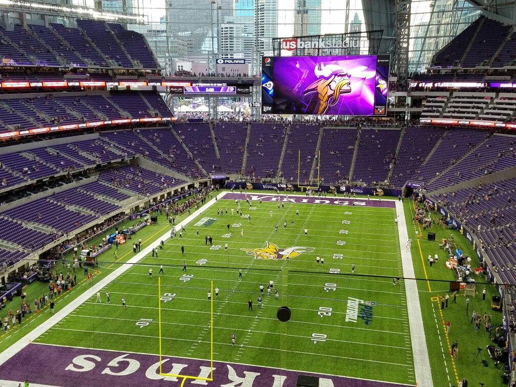 Us Bank Stadium Vikings Repost By The New Era Group We Grow Our Business By Growing Yours Http Newe Vikings Stadium Minnesota Vikings Stadium Nfl Stadiums