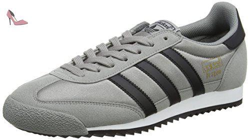 adidas Dragon OG, Sneakers Basses Mixte Adulte, Gris (Grey One/Grey One/Grey One), 40 EU