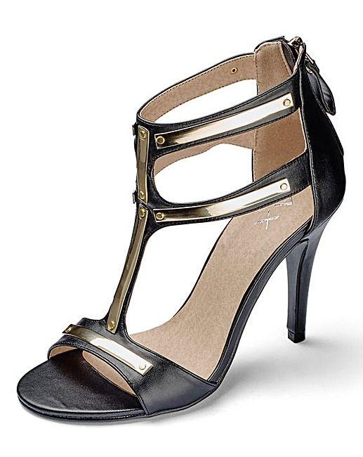 91ad4827abf9 AX Paris T Bar Sandal D Fit
