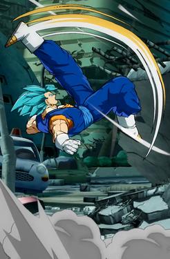 Dbfz Ssb Vegito Dustloop Wiki Anime Dragon Ball Dragon Ball Super