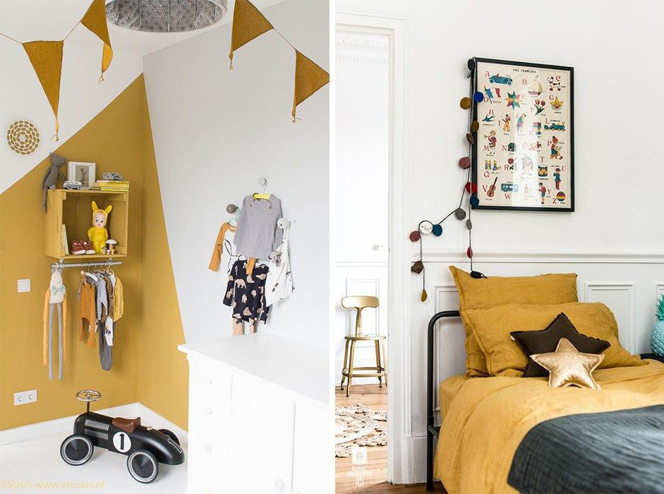Stunning Chambre Fille Jaune Moutarde Gallery - Home Ideas 2018 ...