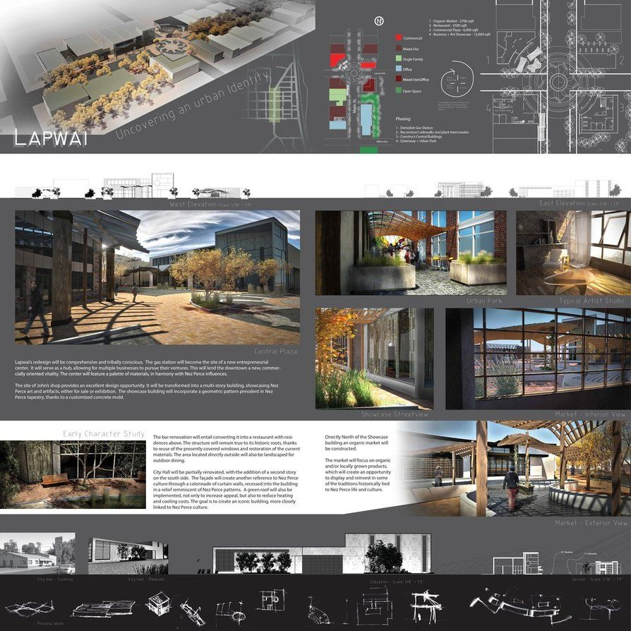 Presentation boards presentation boards interior - Interior design presentation layout ...