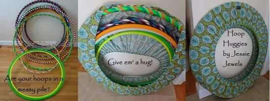 Hula hoop huggie