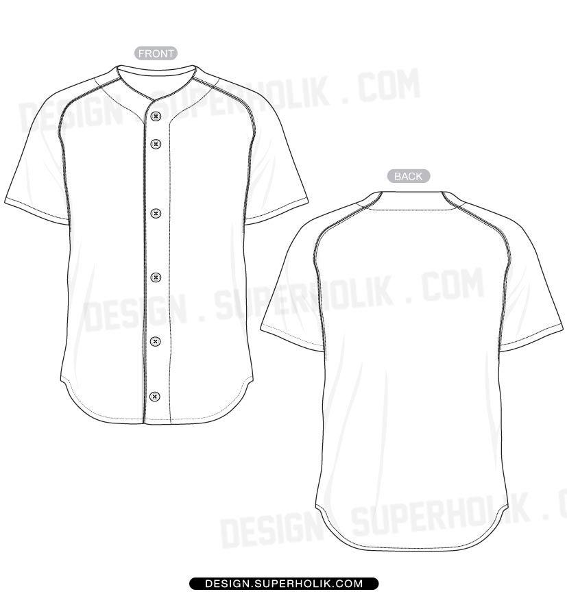 Download Baseball Jersey Shirt Template Set Baseball Jersey Shirt Baseball Jerseys Shirts