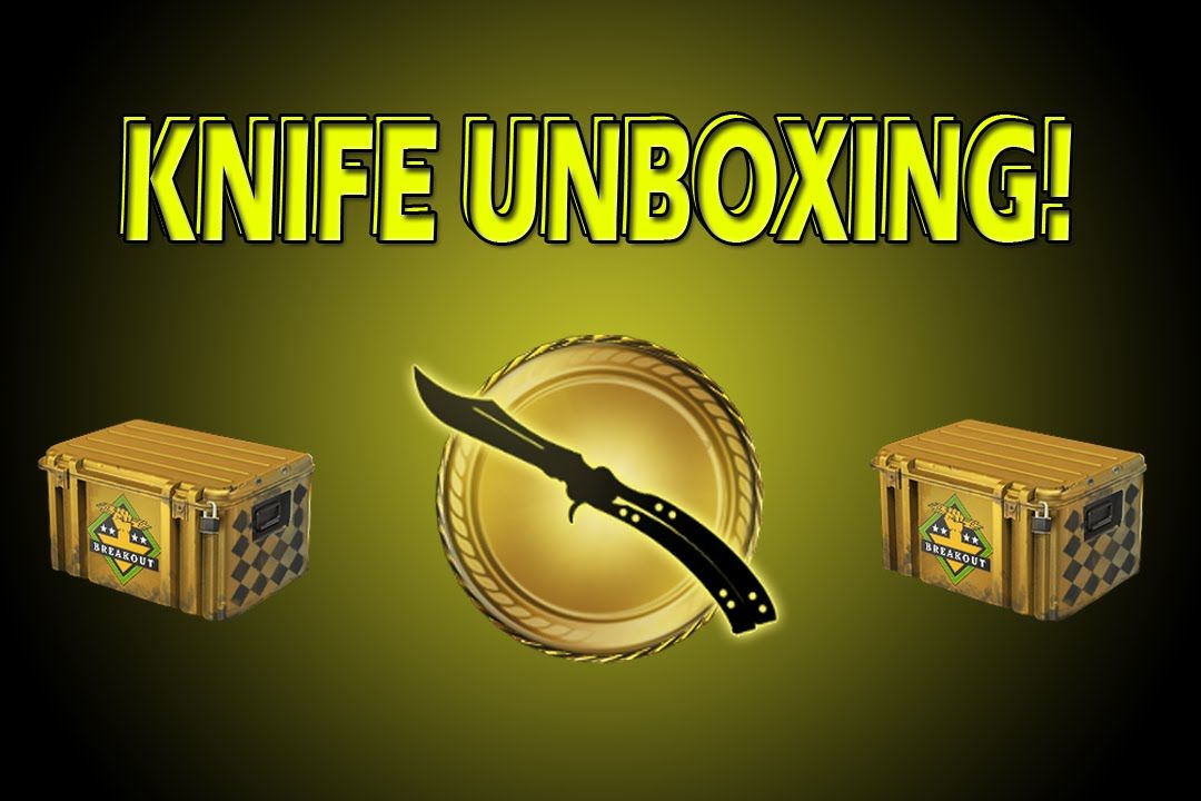 csgo knife unboxing counter strike global offensive case opening