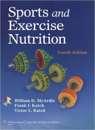 sports and exercise nutrition 4th edition pdf in 2018 books