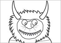 Where The Wild Things Are Coloring Sheets