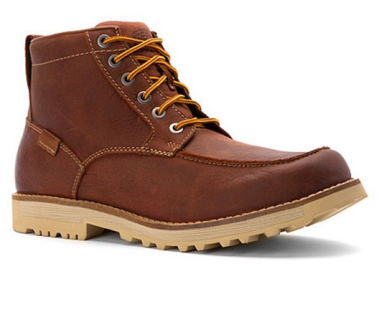 New Keen Mens The 59 Moc Toe Scarlet