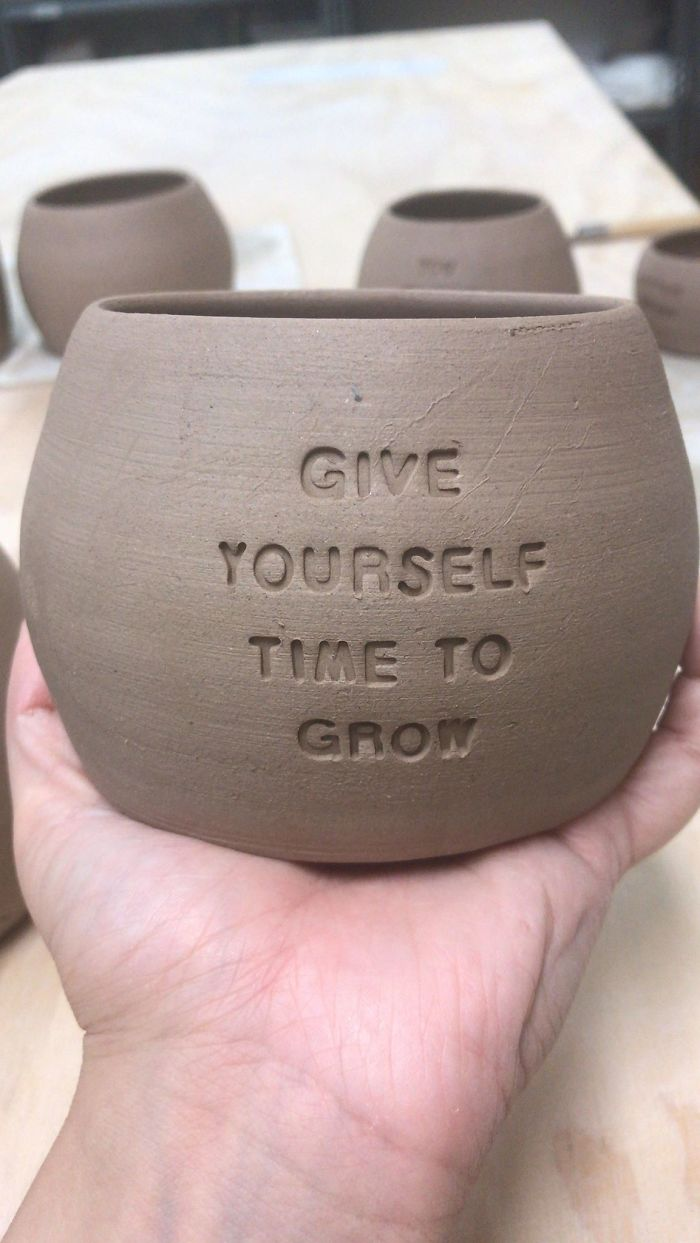 I Make Ceramic Planters With Sassy Botanical Puns (18 Pics)