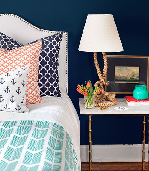 Bright And Bold Guest Bedroom: Our Most-Pinned Home Ideas In 2014