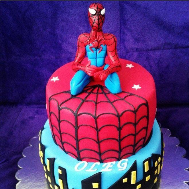 spiderman torte torten tortendeko pinterest fondant and cake