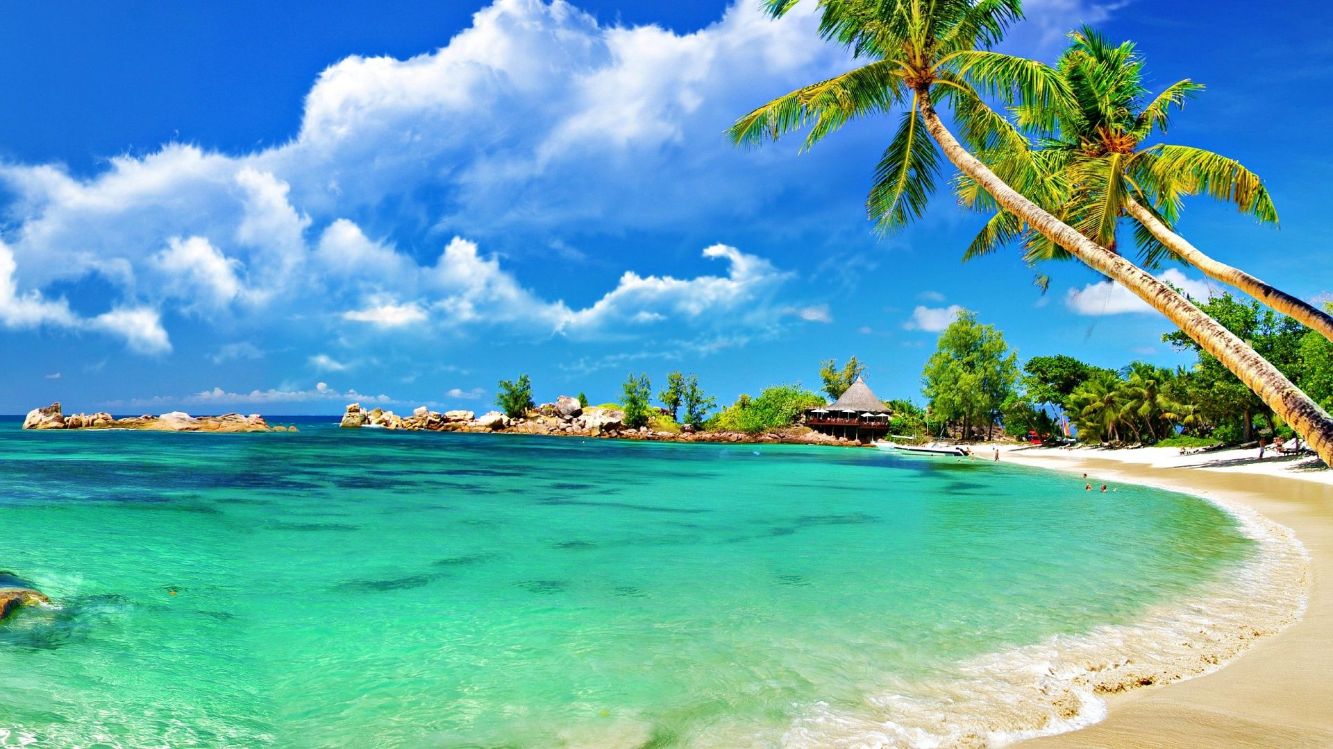 Tropical Island Beach Ambience Sound: Beach Tropical Wallpaper Wallpapers