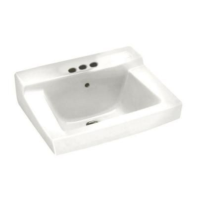 American Standard Declyn Wall Mounted Bathroom Sink In