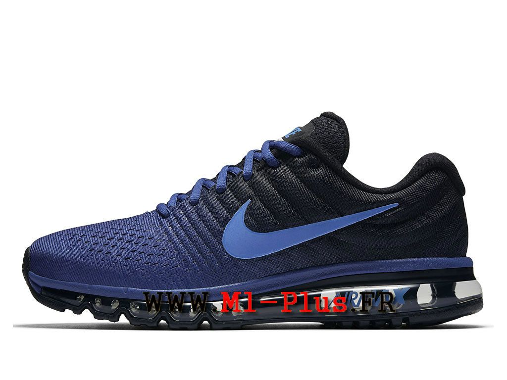 Nike Air Max 2017 - Chaussure de Nike Running Pas Cher Pour Homme Bleu  royal profond