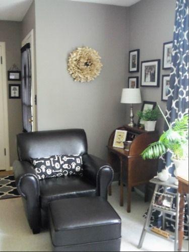 outstanding mega greige living room | Favorite Paint Colors - Mega Greige by Sherwin Williams ...