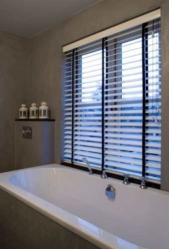 Badkamer - Jasno Shutters & Blinds | Windows treatments | Pinterest ...