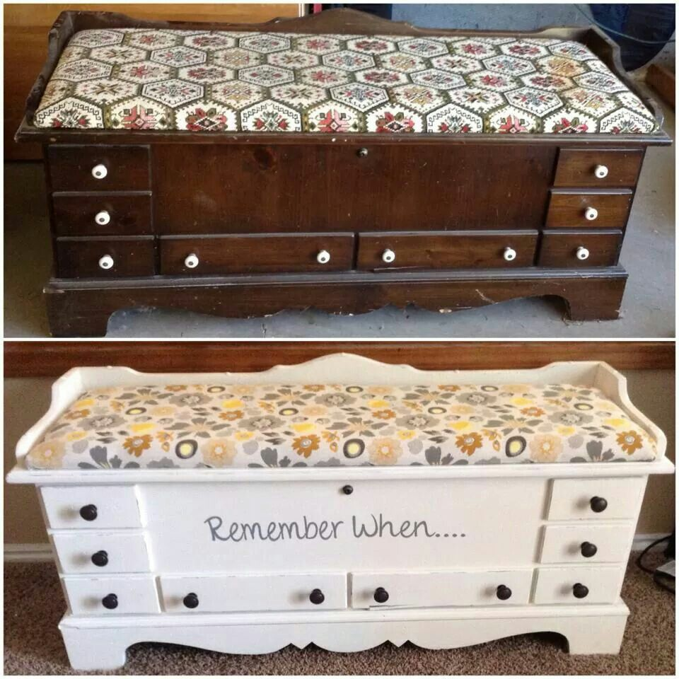 Lane Cedar Chest Makeover! My Favorite Project So Far!