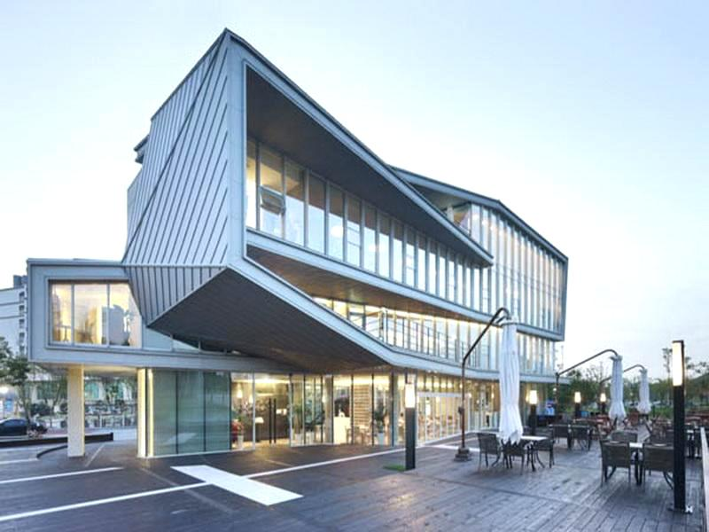 Office Building Design Ideas Modern Small Medical Decoration Exterior Designs Two Story Elevation Plans And Crismate In 2020 Architecture Building Design Facade Design