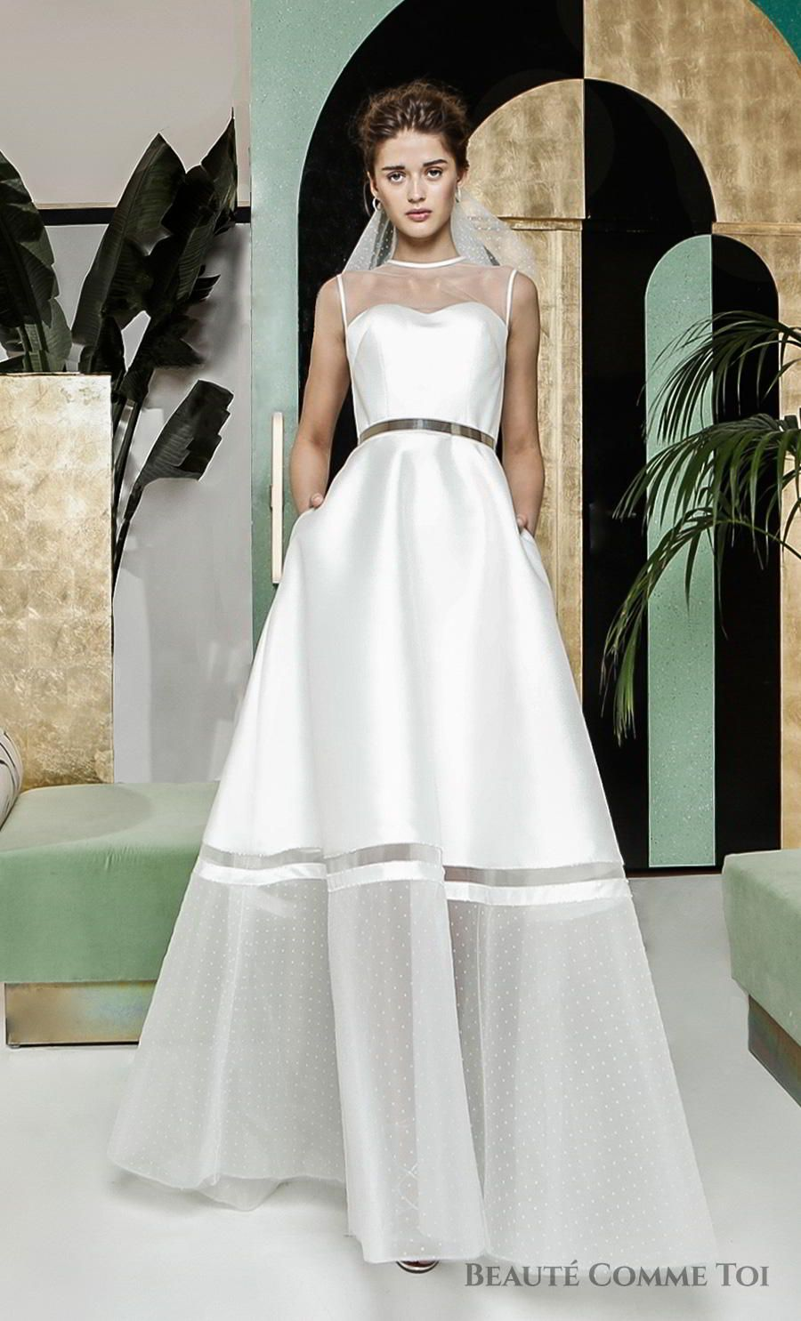 Breathtaking Modern Vintage Wedding Dresses By Beaute Comme Toi