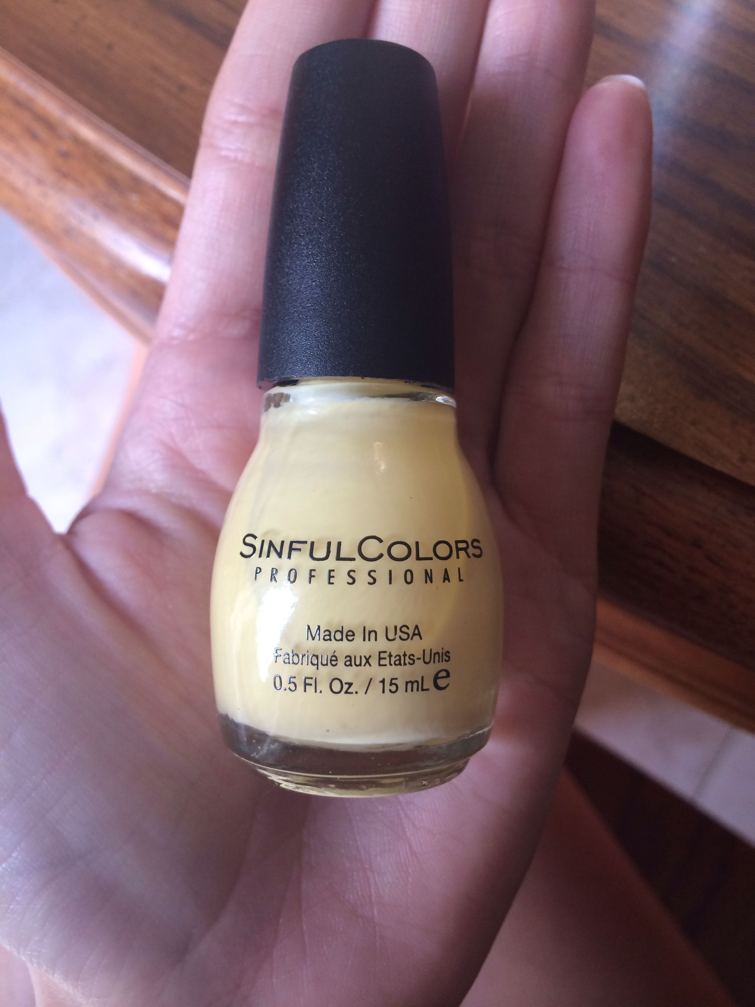 Sinful Colors Polish  *Used once on one nail*