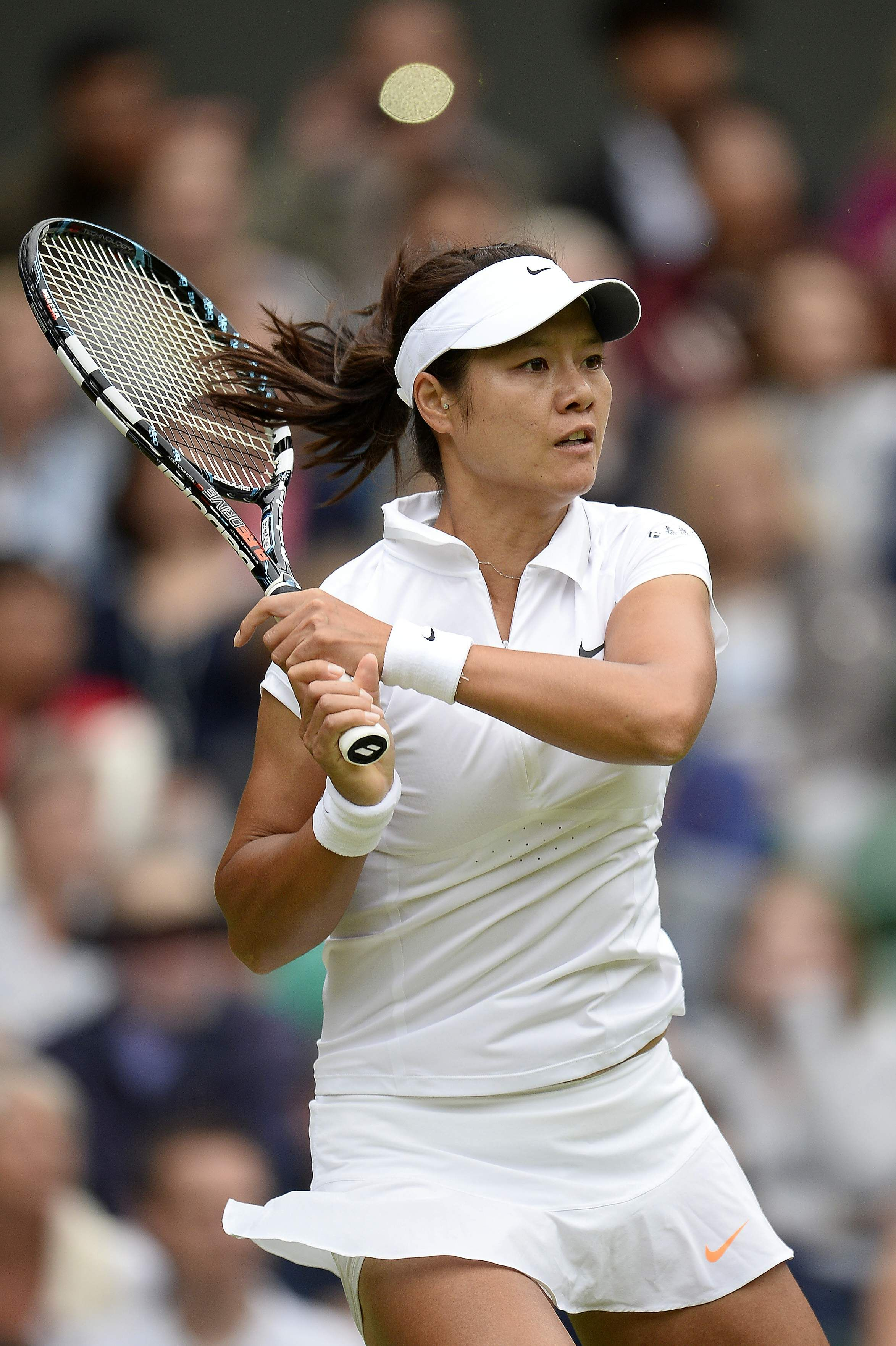 Li Na Quarter Final Match On Day8 Of The Wimbledon Tennis Championships July 2 2013 Wta Na Wimbledon Con Imagenes Tenis Deportes Campeones