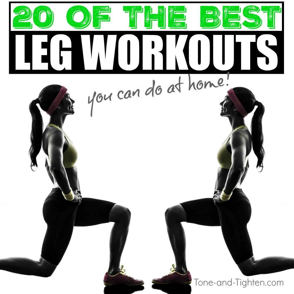 Home Gym Leg Workout: 20 Of The Best At-Home Leg Workouts