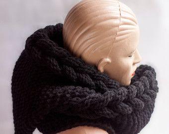 Bufanda con capucha larga bufanda bufanda de las lanas