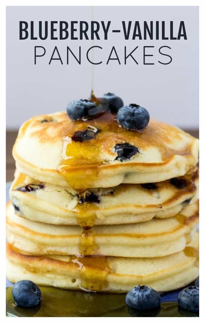 This recipe for Fluffy Blueberry Pancakes uses vanilla creamer to give you moist This recipe for Fluffy Blueberry Pancakes uses vanilla creamer to give you moist... -