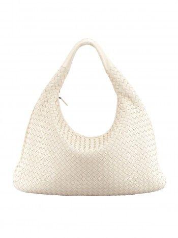 -Andrea Lieberman of A.L.C. Bottega Veneta Veneta Woven Hobo Bag in White ( Main Floor ea00a8825b42c