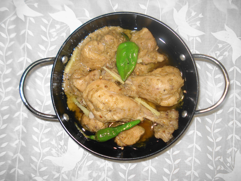 Cuisine of karachi chicken white karahi halal cuisine of karachi chicken white karahi forumfinder Image collections