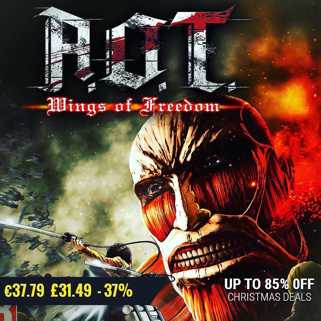 christmas gamedeals Attack on Titan / A.O.T. Wings of