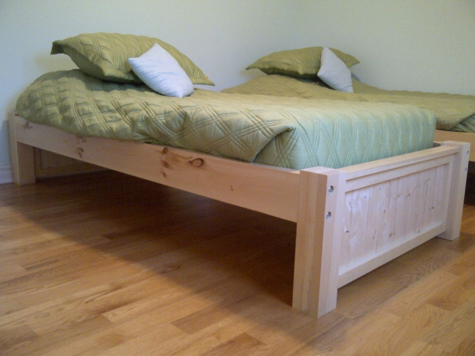Ana White Build A Simple Bed Full Size Free And Easy Diy