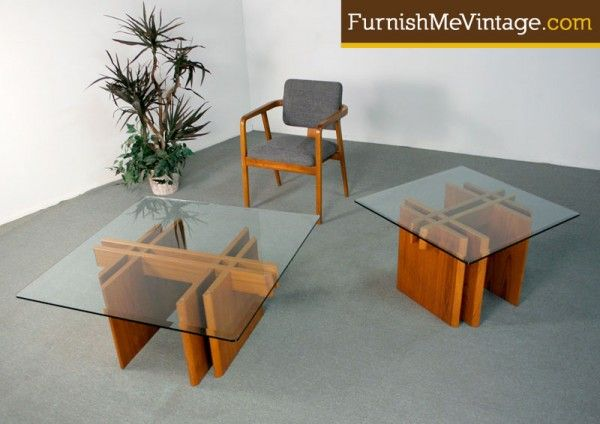 Danish Modern Teak Coffee and End Table | Coffee and end ...