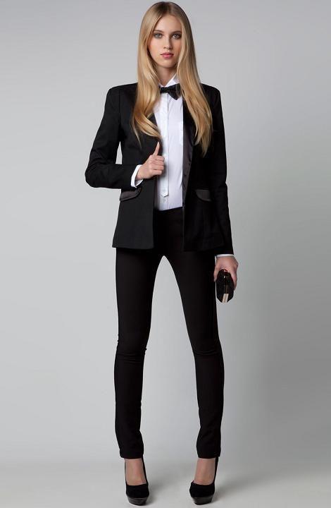 64077ee52 Tendencias de moda de esta Nochevieja 2012   dream closet   Smoking ...