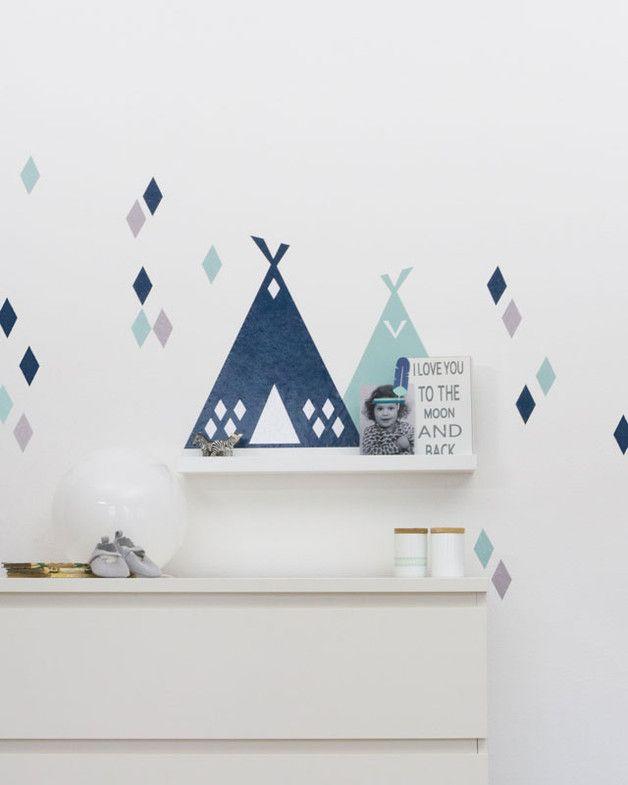 kinderzimmerdeko folie f r ribba mosslanda b wandtattoos dawanda und kinderzimmer. Black Bedroom Furniture Sets. Home Design Ideas